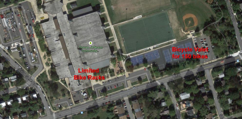 Arlington County Fair Bike Parking