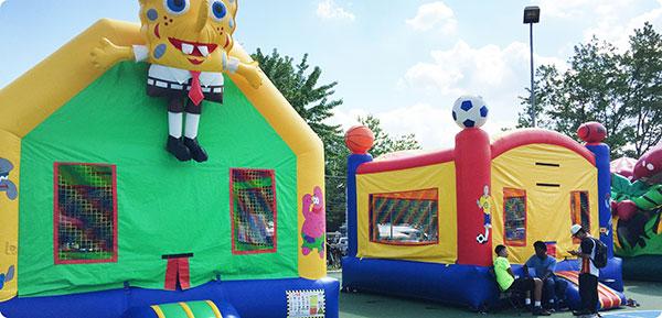Arlington County Fair Bounce House