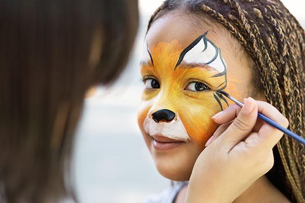 Arlington County Fair Face Painting