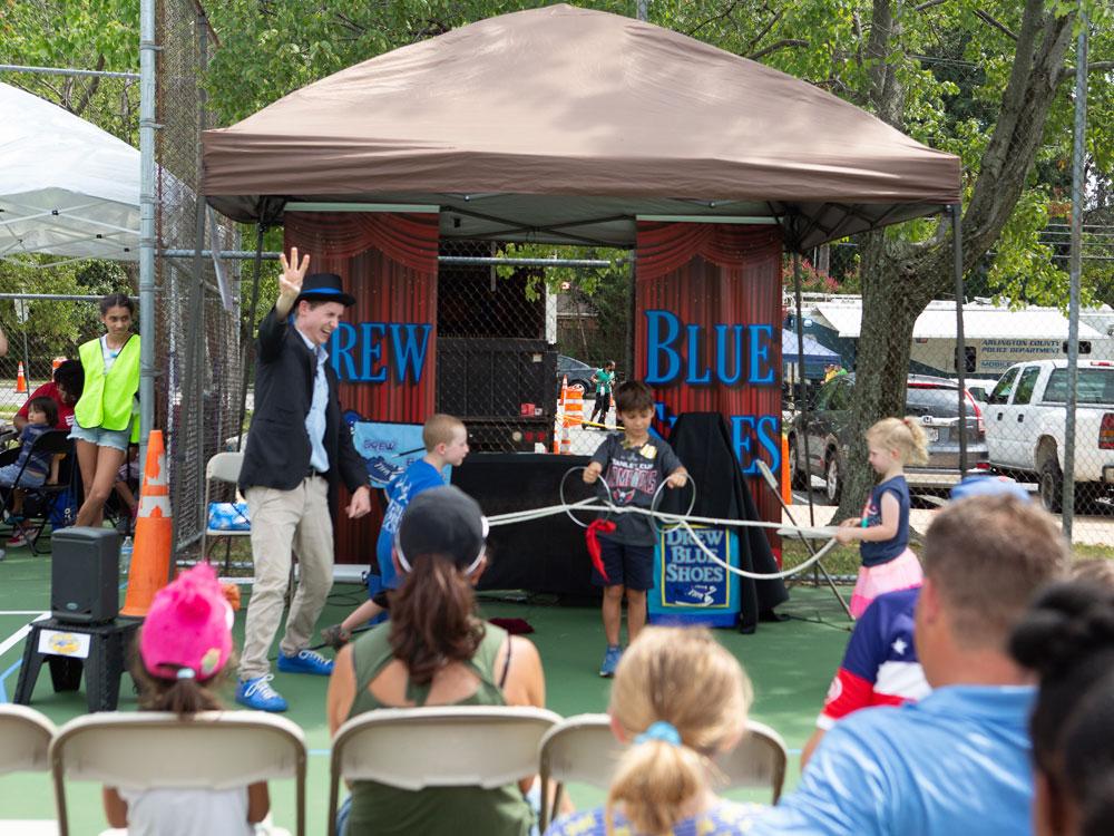 Arlington County Fair Kids Court